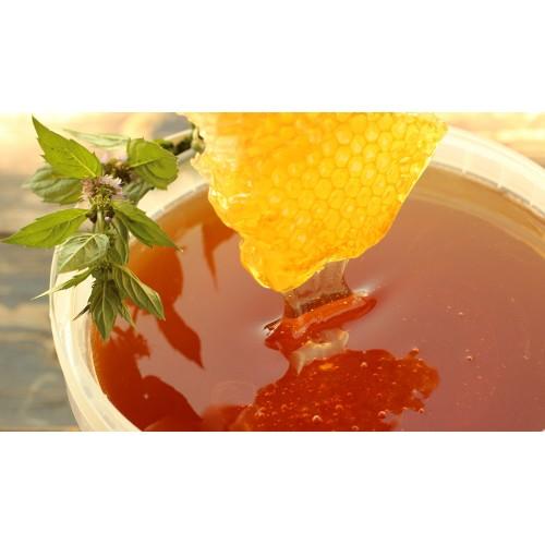 Мёд цветочный, ведро 3 литра